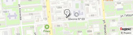OXA на карте Алматы