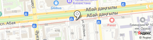 Alcomarket.kz, ТОО на карте Алматы