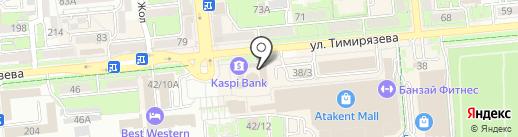 LASK на карте Алматы