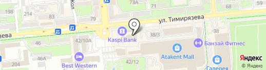 W.bar на карте Алматы