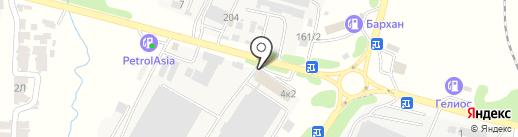 Пункт почтовой связи №11 на карте КазЦика