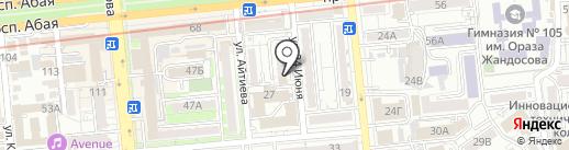 Лактомарин на карте Алматы
