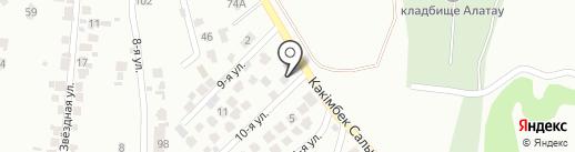 AAS-FOOD на карте Алматы
