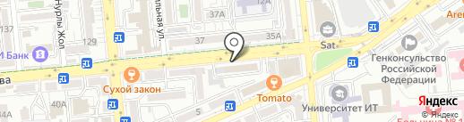 ARR Studio на карте Алматы