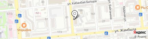 РАИМБЕК АЛКО на карте Алматы