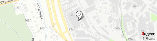 Гулден Сауда, ТОО на карте Алматы