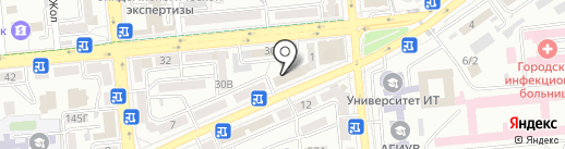 Юпитер на карте Таусамалы