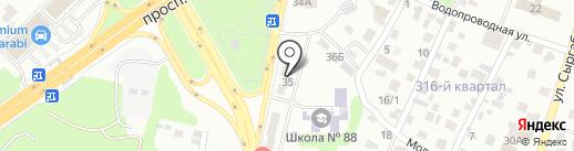 ALI-SA на карте Алматы