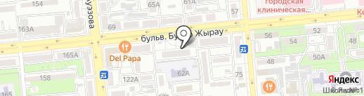 BAYNAU на карте Алматы