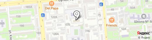 Almapost на карте Алматы