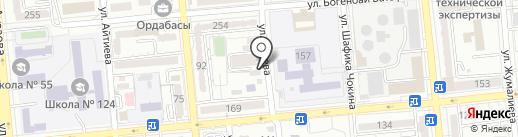 Zlateline на карте Алматы