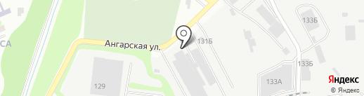 Жетысу Мунай, ТОО на карте Алматы