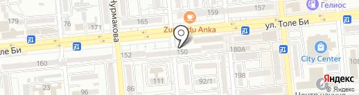 Хочу Production на карте Алматы