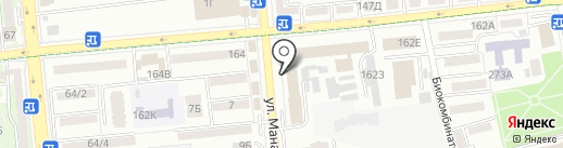 Алматинское областное общество охотников и рыболовов на карте Алматы