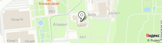 Клевер на карте Алматы