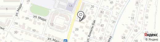 PRODENGI.KZ на карте Алматы