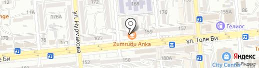 Zumrudu Anka на карте Алматы