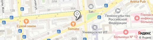 Flooring.kz на карте Алматы