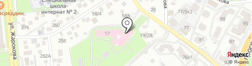 Госпиталь МВД Республики Казахстан на карте Алматы