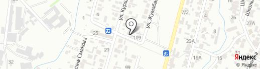 Жайдар на карте Алматы
