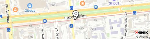 ChinaLand Foundation на карте Алматы