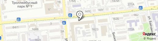 Шариков на карте Алматы