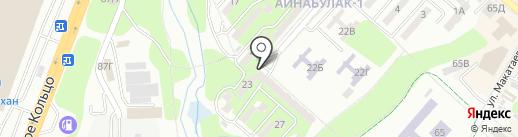 Гламур на карте Алматы