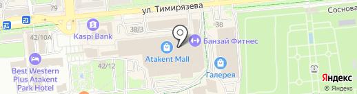 JAM на карте Алматы