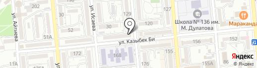 GoSmart на карте Алматы