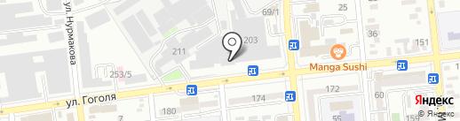 Кока-Кола Алматы Боттлерс на карте Алматы