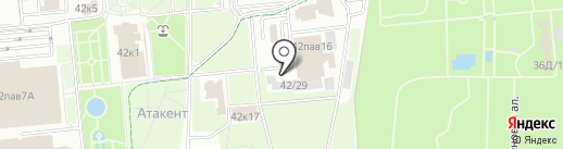Vista Rattan на карте Алматы