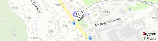 Тима на карте Алматы