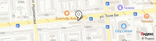 Магазин женского белья на карте Алматы