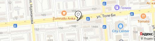 Магазин косметики и парфюмерии на карте Алматы