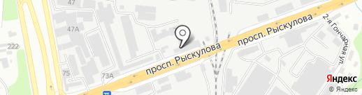 РоссМеталл, ТОО на карте Алматы