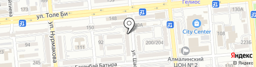 Любимый на карте Алматы