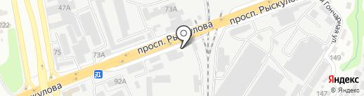 LADA на карте Алматы