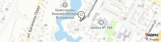 Айгерим Пласт на карте Алматы