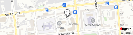Аллатау на карте Алматы