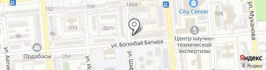 Вилора на карте Алматы