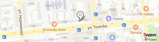 Городская поликлиника №31 на карте Алматы