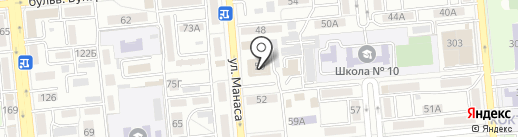 Дворянский на карте Алматы