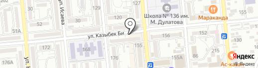Нотариус Михайлова Н.С. на карте Алматы