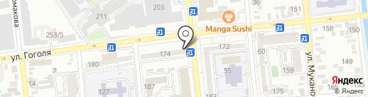Зенит, ТОО на карте Алматы