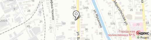 ЕвроБагет на карте Алматы