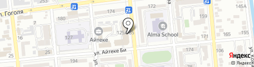 Adeline на карте Алматы