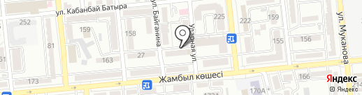 Ширак, КСК на карте Алматы