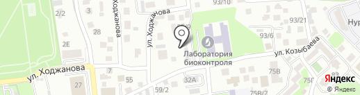 Алакай, продуктовый магазин на карте Алматы