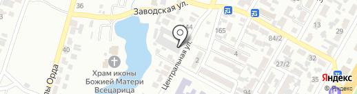 Помой Тачку на карте Алматы