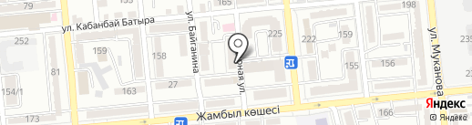 ЭкоСпорт на карте Алматы